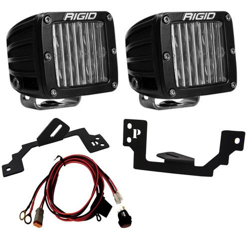 Rigid Industries 504813 LED Light Pair SAE D-Series Fog