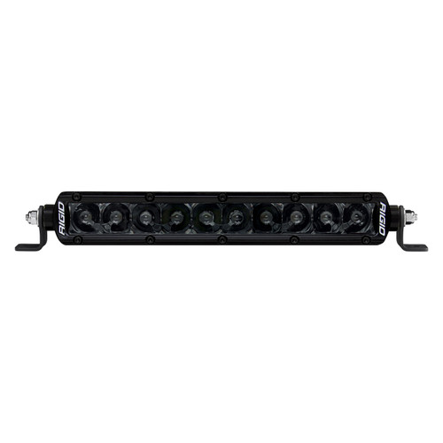Rigid Industries 910213BLK LED Light Each 10in SR Series Spot  Midnight