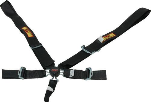 Rci 9510CD Harness System 5pt P/U Camlock Black