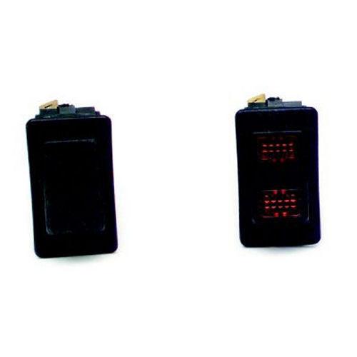 Painless Wiring 80400 Black Rocker Switch w/o Lights