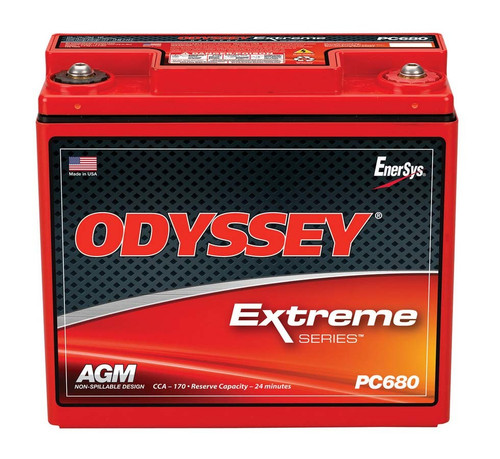 Odyssey Battery PC680MJ Battery 170CCA/280CA M6 Female Terminal