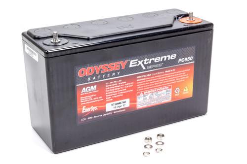 Odyssey Battery PC950 Battery 400CCA/500CA M6 Stud Terminal