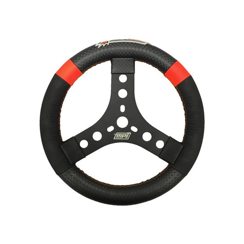 Mpi Usa MPI-KQR-11-A 11in Round Aluminum Qtr Midget Wheel Suede Grip