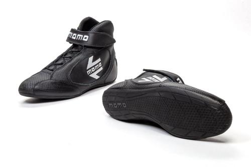 Momo Automotive Accessories R576N43 GT PRO Racing Shoes Black 10 Calf Air