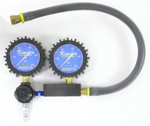 Kinsler 5980 Dual Gauge Leakdown Tester Twin 0-100