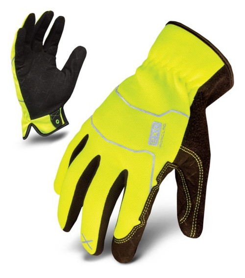 Ironclad EXO2-HSY-04-L EXO Hi-Viz Utility Safety Yellow Large