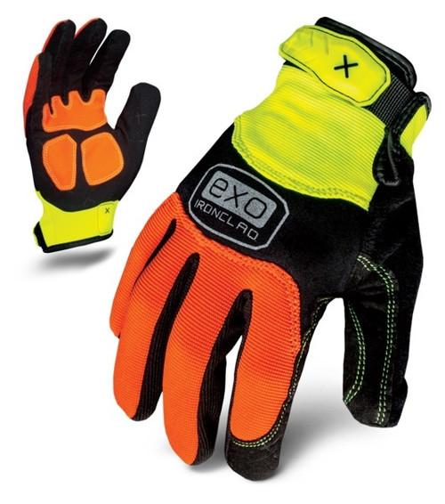 Ironclad EXO2-HZA-04-L EXO Hi-Viz Abrasion Large