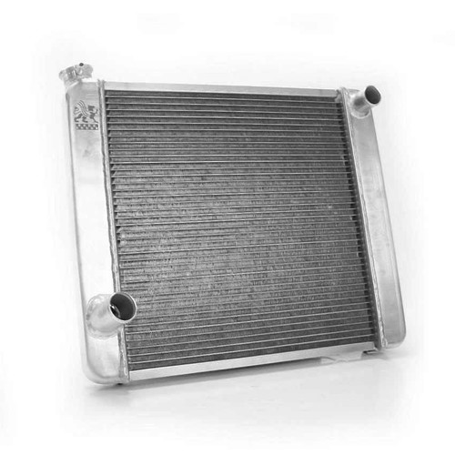 Griffin 126182X 19in. x 22in. x 3in. Radiator Ford Aluminum