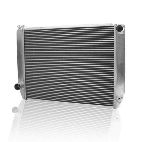 Griffin 126242X 19in. x 27.5in. x 3in. Radiator Ford Aluminum