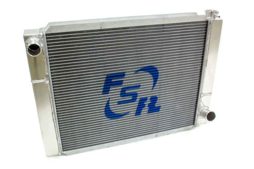 Fsr Racing 2719T2 Radiator Chevy Triple Pass 27.5x19