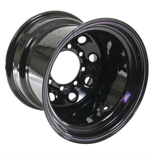 Bart Wheels 7015806 15x8 6x5.5 3.75in BS Blk Supertrucker Wheel