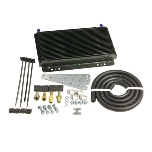 B And M Automotive 70255 SuperCooler Trans Cooler 9800 BTU Rated