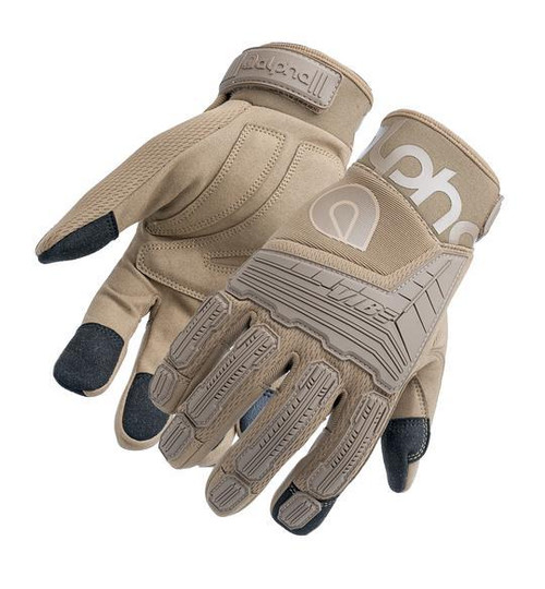 Alpha Gloves AG03-05-L VIBE Impact Coyote Large