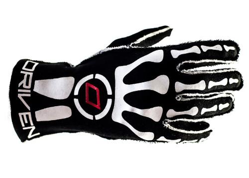 Driven Steering Wheels DRG0301MED Red/Black Nomex Gloves Medium