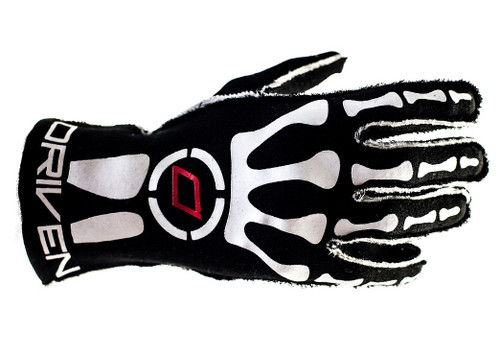 Driven Steering Wheels DRG0301XLG Red/Black Nomex Gloves X-Large