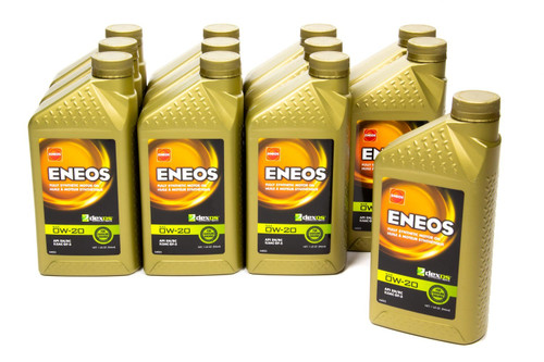 Eneos 3701-301 Full Syn Oil Dexos 1 Case 0w20 12 x 1 Qt