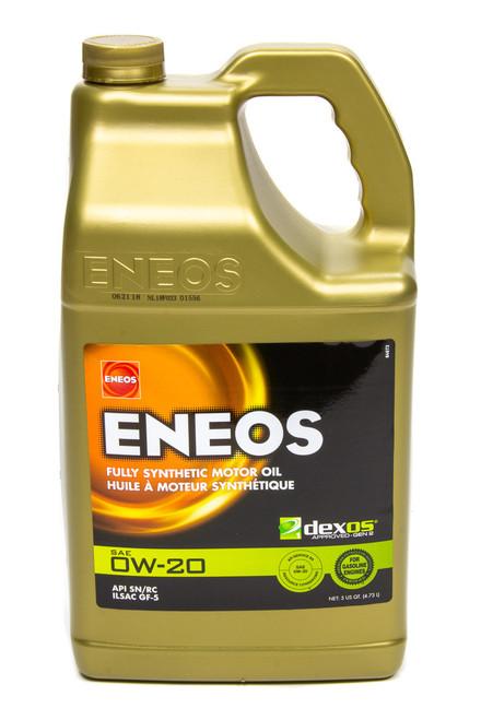 Eneos 3701-320 Full Syn Oil Dexos 1 0w20 5 Qt