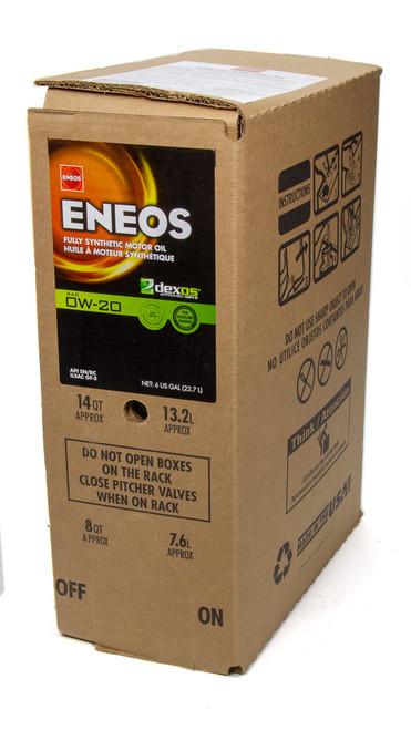 Eneos 3701-400 Full Syn Oil Dexos 1 0w20 6 Gal