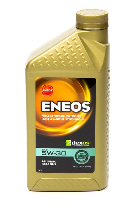Eneos 3703-300 Full Syn Oil Dexos 1 5w30 1 Qt