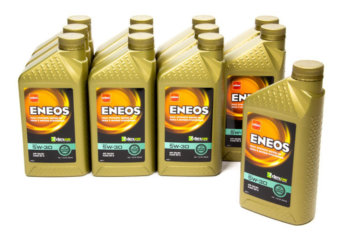 Eneos 3703-301 Full Syn Oil Dexos 1 Case 5w30 12 X 1 Qt