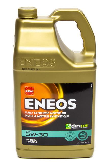 Eneos 3703-320 Full Syn Oil Dexos 1 5w30 5 Qt
