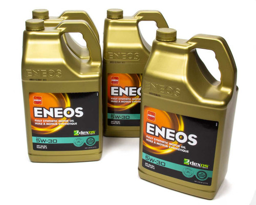 Eneos 3703-323 Full Syn Oil Dexos 1 Case 5w30 4 X 5 Qt