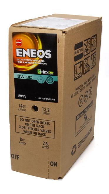 Eneos 3703-400 Full Syn Oil Dexos 1 5w30 6 Gal