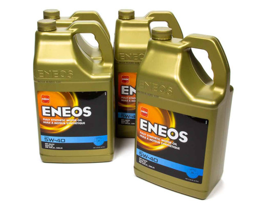 Eneos 3704-323 Full Syn Oil 5w40 Case 4 X 5 Qt