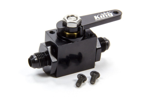 King Racing Products 4500 Fuel Shut Off Valve -6