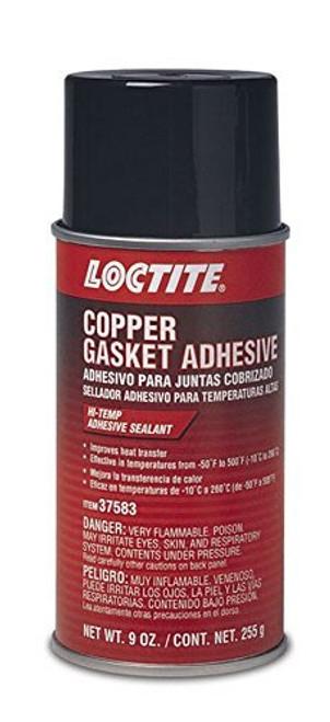 Loctite 502911 Copper Gasket Adhesive Aerosol 9oz