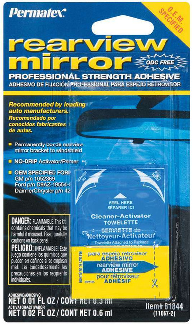 Permatex 81844 Rearview Mirror Adhesive