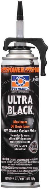 Permatex 85080 Powerbead Ultra Black RTV Silicone 9.5oz