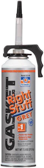 Permatex 85144 Right Stuff Grey Gasket Maker 7.5oz Can