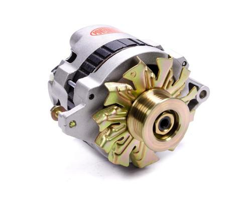 Powermaster 478028 140 Amp XS Small GM Alternator Natural Finis