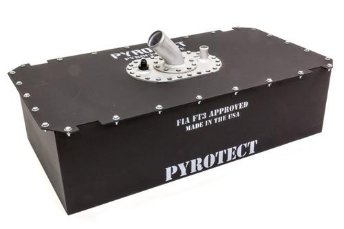 Pyrotect PE122D-2.25FF Fuel Cell 22 Gallon 2.25 in Remote Fill Elite Stl