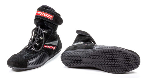 Pyrotect X48060 Shoe High Top Size 6 Black SFI-5