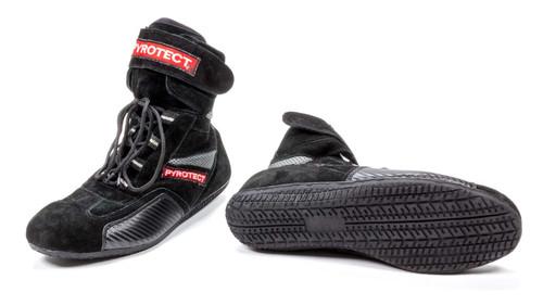 Pyrotect X48080 Shoe High Top Size 8 Black SFI-5