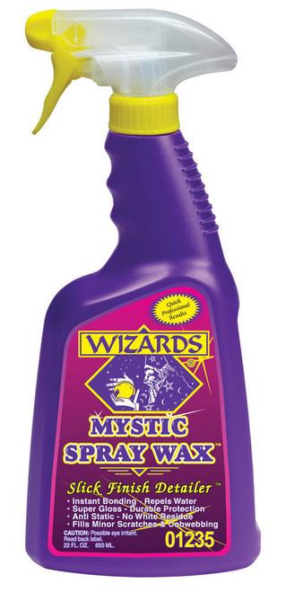 Wizard Products 01235 Mystic Spray Wax 22oz.