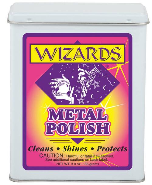 Wizard Products 11011 Metal Polish 3oz.
