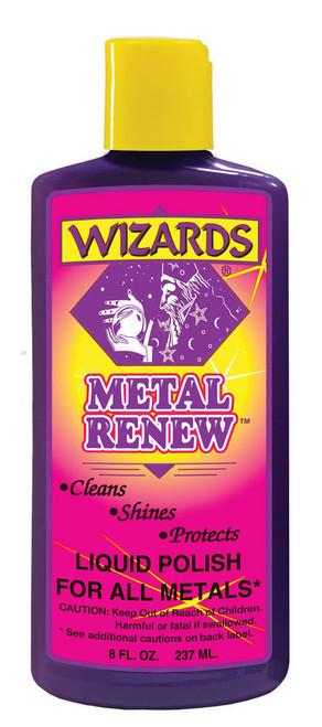 Wizard Products 11020 Metal Renew Polish 8oz.