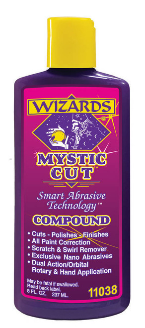 Wizard Products 11038 Mystic Cut Compound 8oz.
