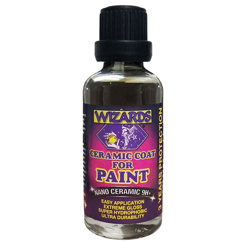 Wizard Products 31001 Nano Ceramic Coat For Paint 1.75oz 2Pc.