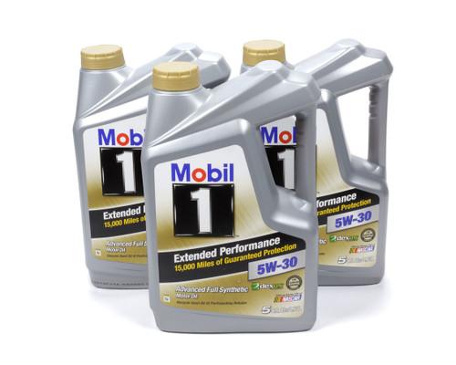 Mobil 1 120766 5w30 EP Oil Case 3x5 Qt Bottles