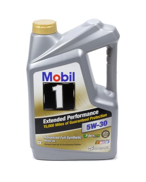 Mobil 1 120766-1 5w30 EP Oil 5 Quart Bottle