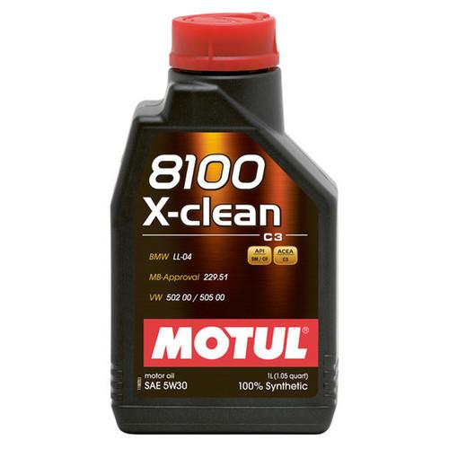 Motul Usa 109470 8100 X-Clean EFE 5w30 1 Liter