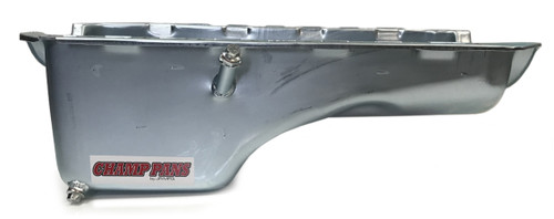 Champ Pans CP207 BBC Oil Pan - Stock Appearing w/Windage Tray