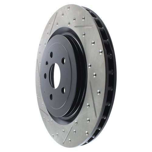 Stoptech 127.62119R StopTech Sport Slotted & Drilled Rotor