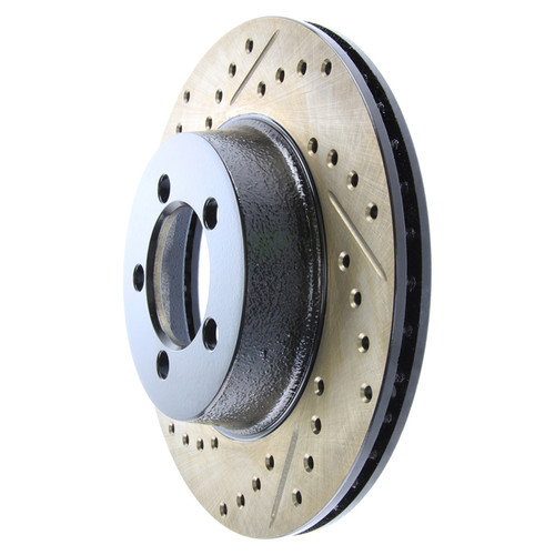 Stoptech 127.63005R StopTech Sport Slotted & Drilled Rotor