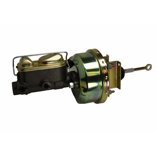 Leed Brakes 5H4 7in Brake Booster Zinc 1in Bore Master Cylinder