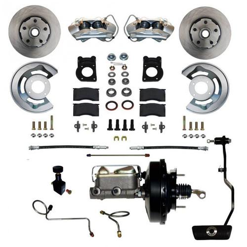 Leed Brakes FC0002-3405A Power Brake Conversion 67-69 Mustang